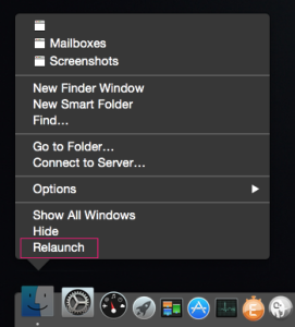 Relaunch Finder